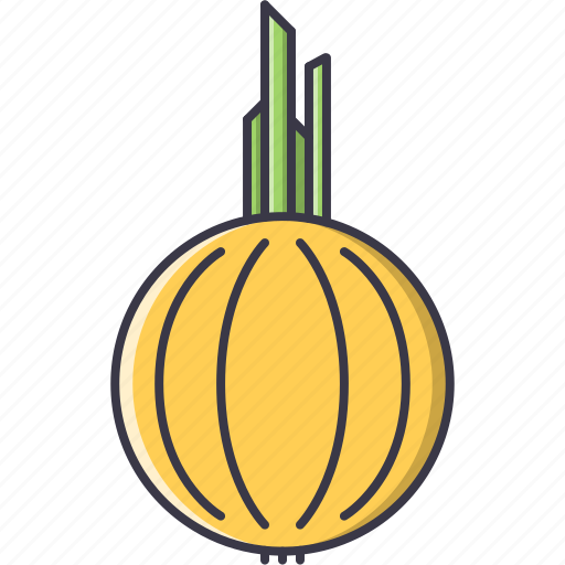 cooking, food, onion, shop, supermarket, vegetable icon