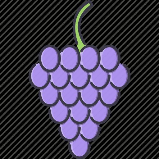 cooking, food, fruit, grape, shop, supermarket icon
