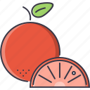 cooking, food, fruit, orange, shop, supermarket icon
