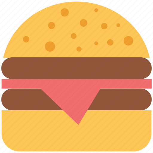 bacon, burger, fastfood, food, hamburger, junkfood icon