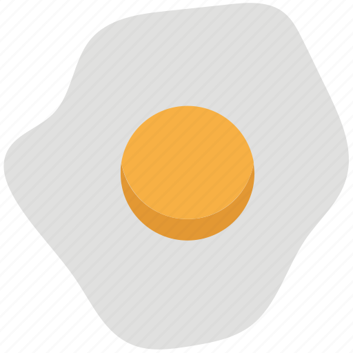 breakfast, egg, food, fried egg, poultry, protein icon