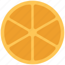 citrus, food, fruit, orange, orange slice icon