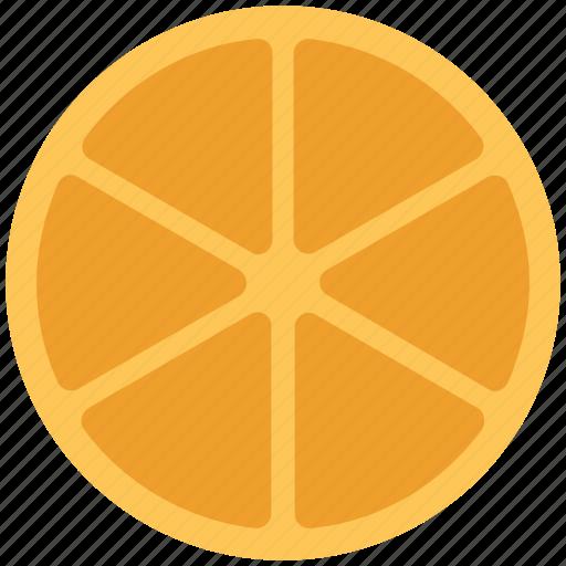 citrus, food, fruit, orange, orange slice icon