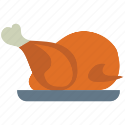 chicken, food, grilled chicken, meat, roast, roasted chicken icon