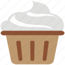 dessert, food, frozen yogurt, ice cream cup, icecream icon