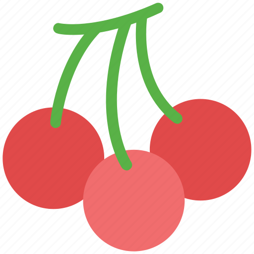 berry, cherry, food, fruit, healthy food, stone fruit icon