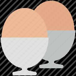 breakfast, egg cup, egg holder, egg server, eggs, poutine icon