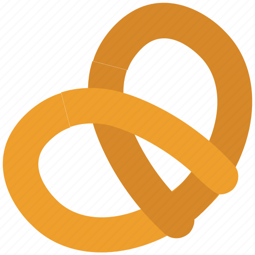 baked bread, bakery food, cookie, cracker, pastry, pretzel, snack icon