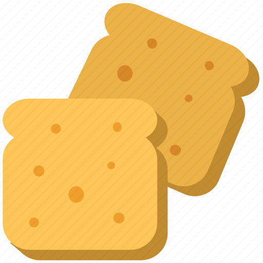 Bakery food, bread, bread slices, breakfast, toast icon - Download on Iconfinder