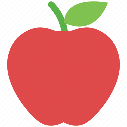apple, diet, fruit, healthy food, nutrition, organic icon