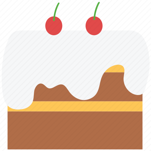 cake, cake pudding, dessert, food, tart icon