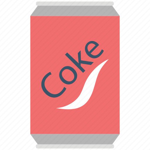 Cocacola, coke tin, cola, cola can, drink, soda icon - Download on Iconfinder