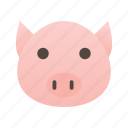 animal, cooking, farm, food, pet, pig, pork icon