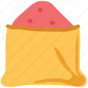 food, ingredient, salt sack, sugar bag, sugar sack icon