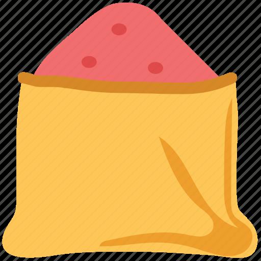 food, ingredient, salt sack, sugar bag, sugar sack icon