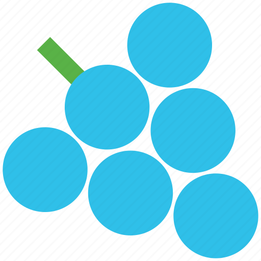 bunch of grapes, food, fruit, grapes, healthy food icon