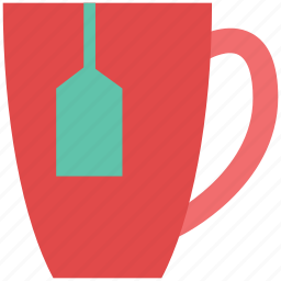 beverage, hot drink, instant tea, tea, tea bag, tea cup icon