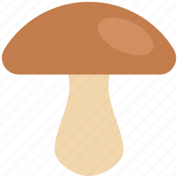 eating, food, fungi, meal, mushroom, organic icon
