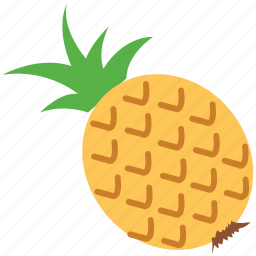 ananas, fruit, healthy food, pineapple, tropical fruit icon