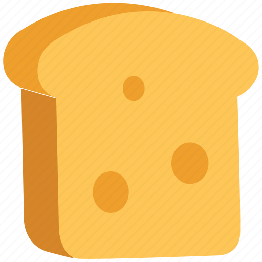 Bakery food, bread slice, breakfast, food, spongecake, toast icon - Download on Iconfinder