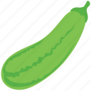 courgette, food, raw food, vegetable, zucchini icon
