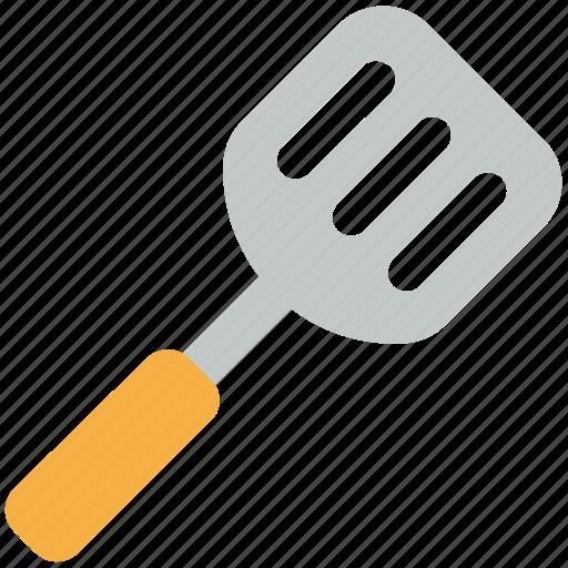 cutlery, kitchen accessories, kitchenware, spatula, turner spoon icon