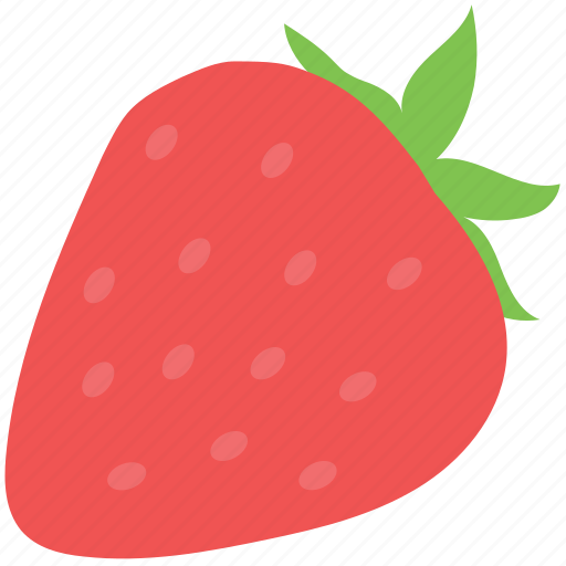 berry, fruit, healthy diet, organic, strawberry icon