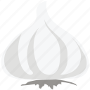 allium sativum, food, garlic, garlic bulb, garlic clove, ingredient icon