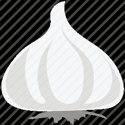 allium sativum, food, garlic, garlic bulb, garlic clove, ingredient icon