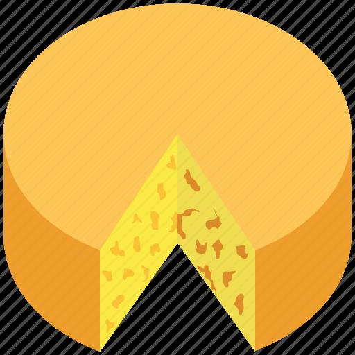 Bakery food, cake, cheese wheel, dessert, spongecake icon - Download on Iconfinder