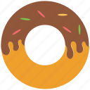 bakery food, confectionery, dessert, donut, doughnut icon