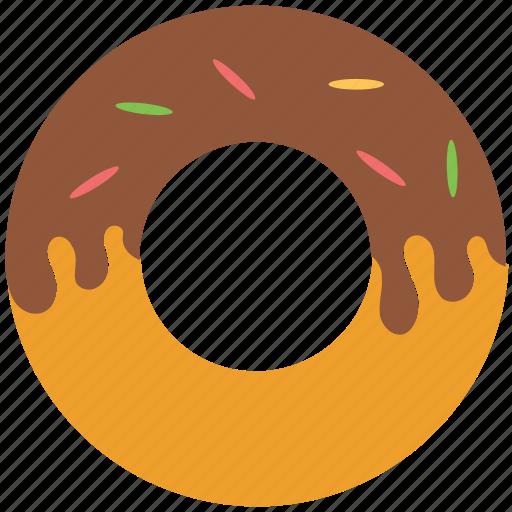 bakery food, confectionery, dessert, donut, doughnut icon