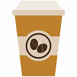 cappuccino, coffee, coffee cup, disposable cup, espresso, takeaway coffee icon