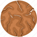 bakery food, biscuit, brownie, cookie, cracker, food icon