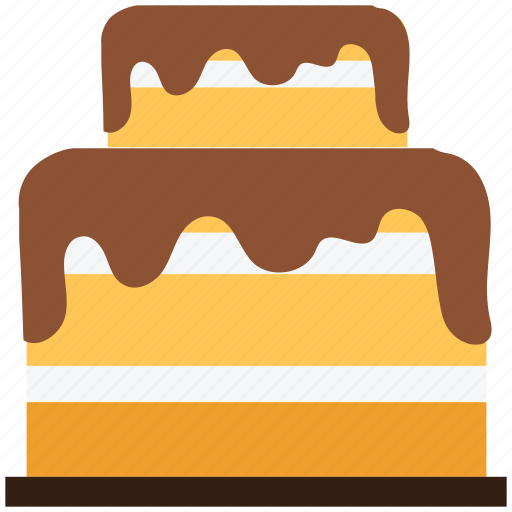 bakery food, birthday, cake, dessert, party icon
