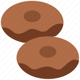 bakery, biscuits, brownies, cookies, crackers, donut, food icon