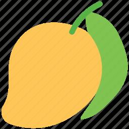 food, fruit, healthy food, juicy, mango, tropical icon
