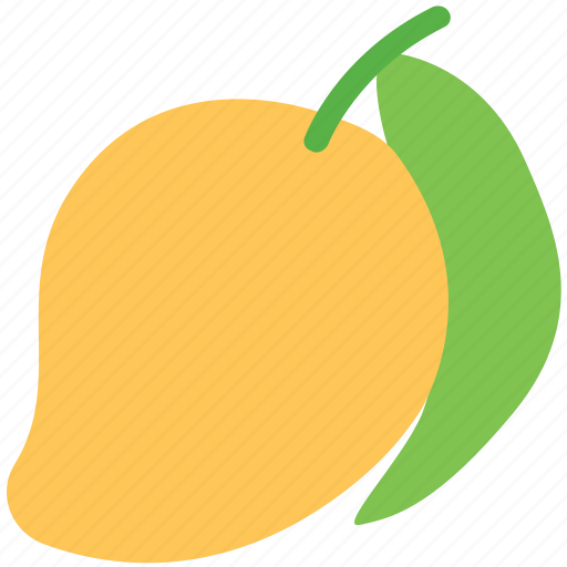 Food, fruit, healthy food, juicy, mango, tropical icon - Download on Iconfinder