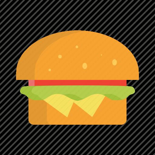 burger, drinknatural, food icon