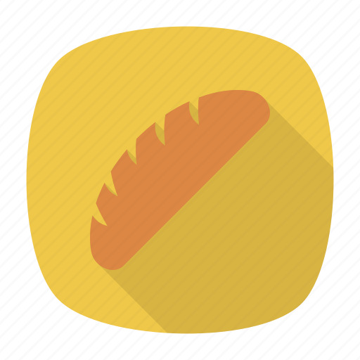 bakery, bread, long, muffin icon