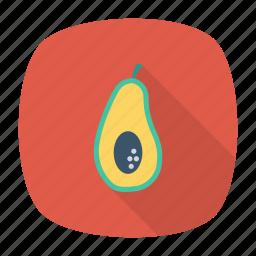 avocado, eat, fruit, healthy icon