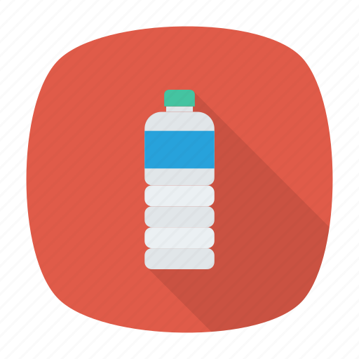 Water, aqua, milk, bottle icon