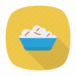 bowl, eat, food, meals icon