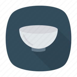 bowl, food, mixing, soup icon
