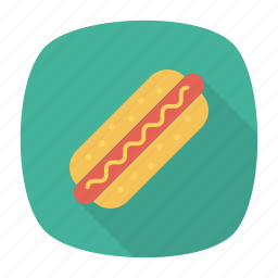 bread, burger, fastfood, junk icon