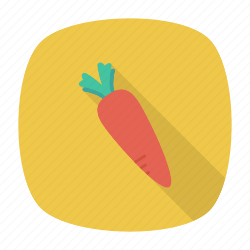 carrot, food, healthy, vegatable icon