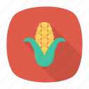 cob, corn, food, vegetable icon