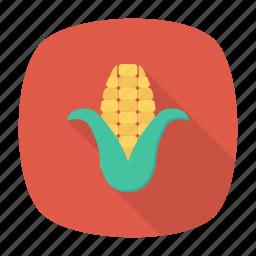 cob, corn, food, vegetable icon