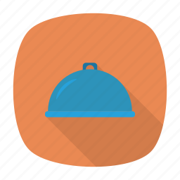 cover, dish, food, resturant icon