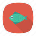 fish, food, jellyfish, shark icon